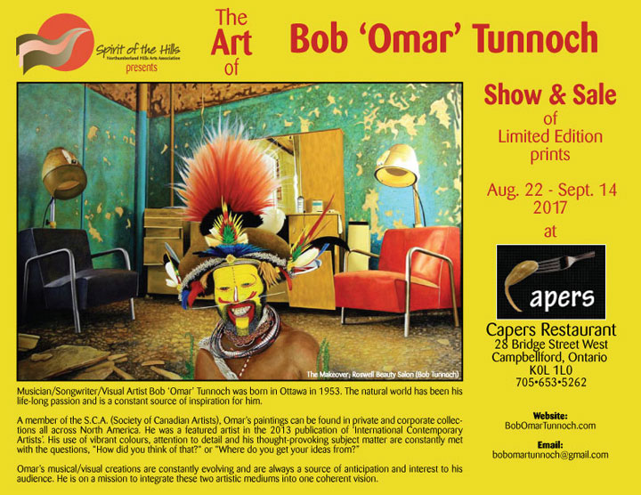The Art of Bob 'Omar' Tunnoch poster