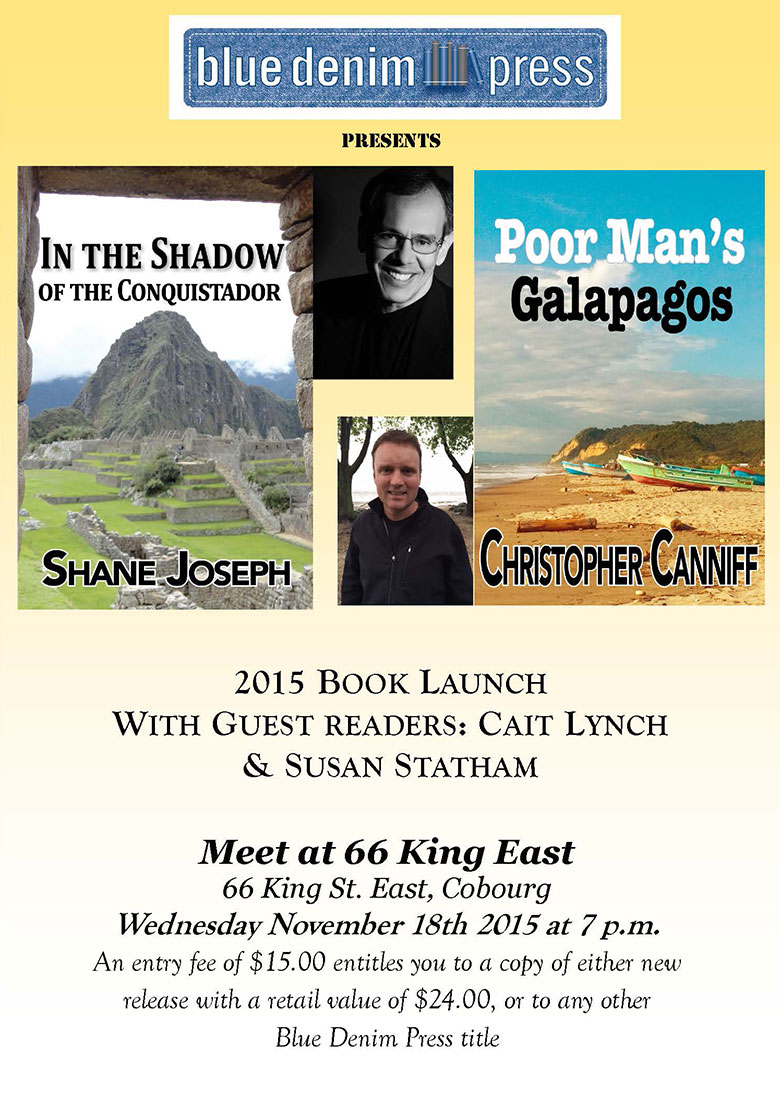 Book-Launch-Shane-Joseph-Fall-2015