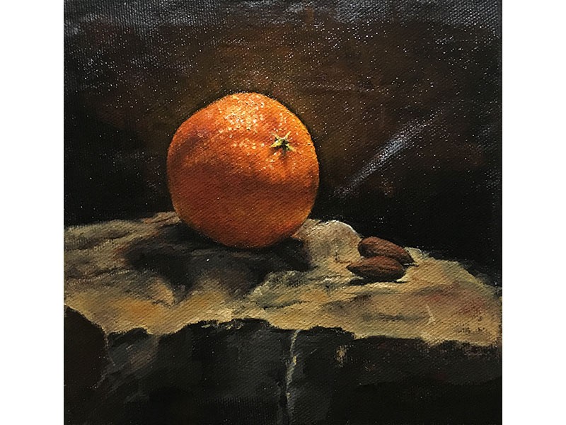 Clementine with Almonds by Jeffrey Weekes