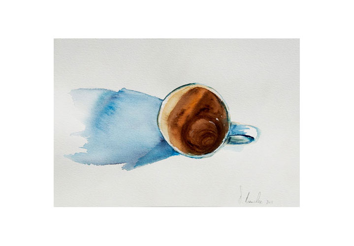 Java Sigh 12″ x 8″ Watercolour on Arches 140 lb. Cold Press Paper by Denny Manchee