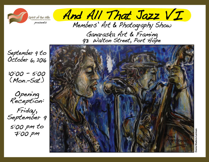 And All That Jazz VI Art & Photography Show Poster
