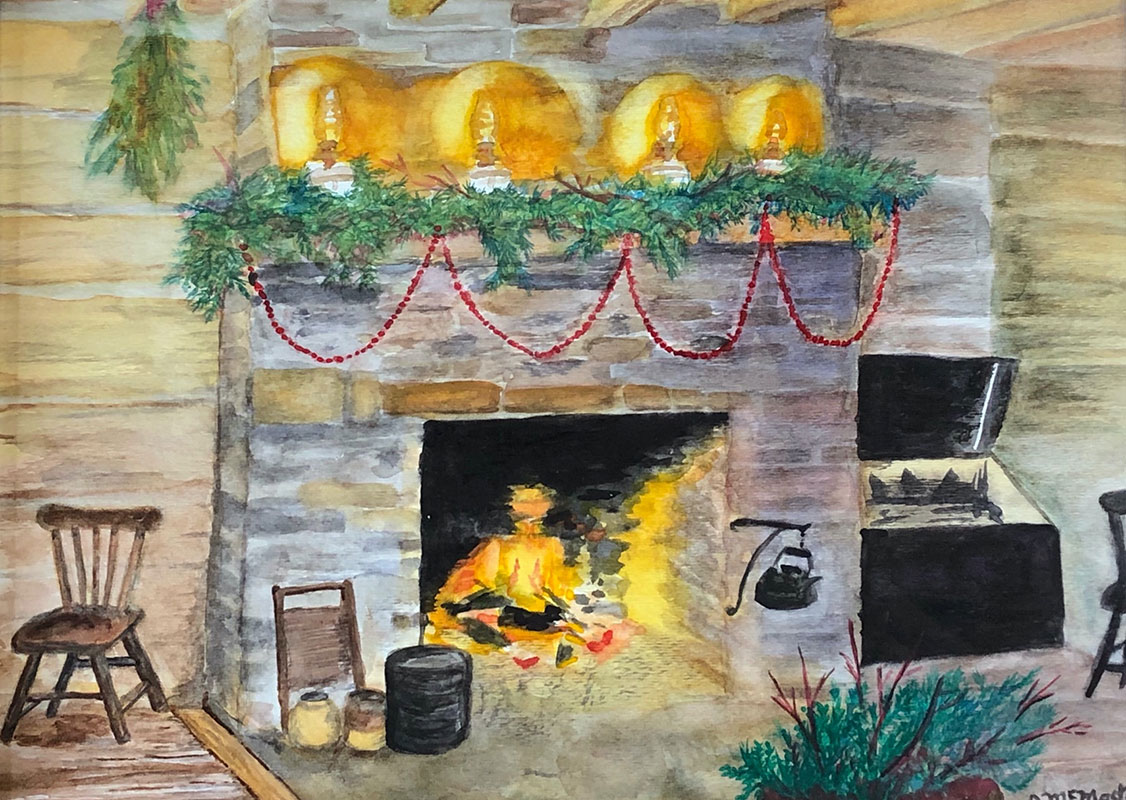 Holiday Hearth by Joanne McMaster