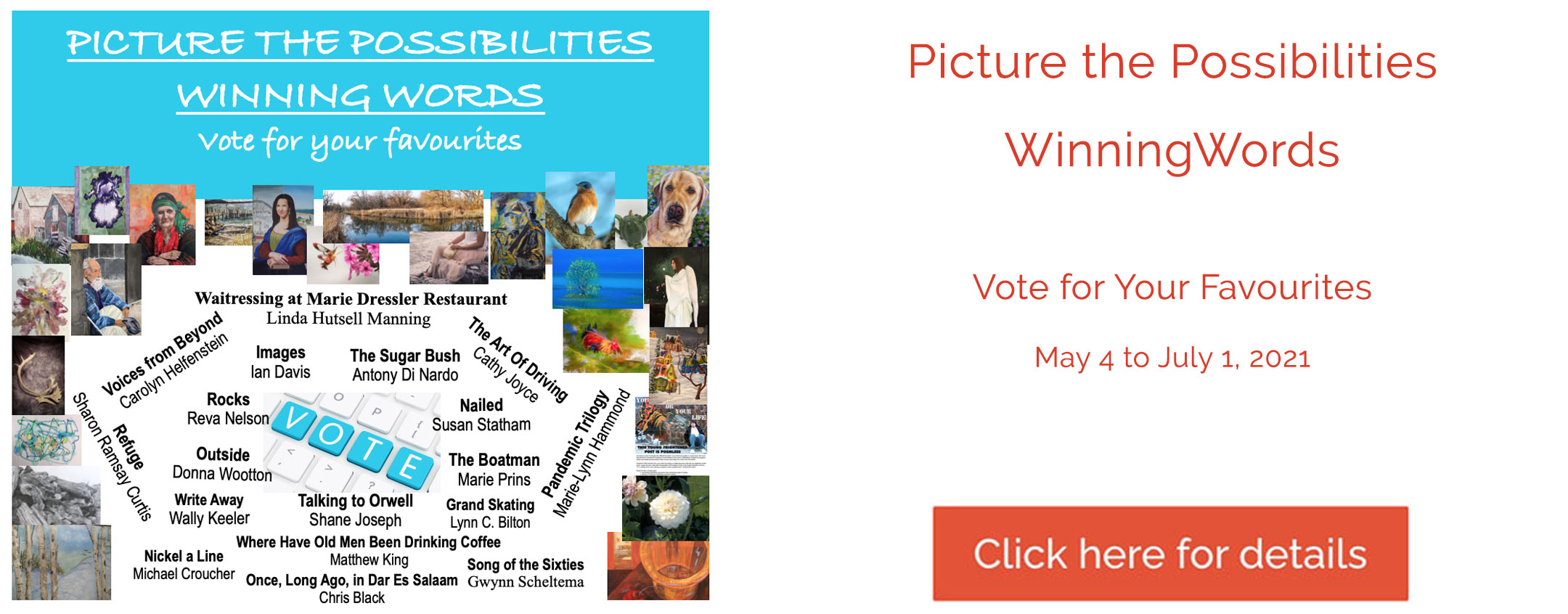 Picture the Possibilities & Winning Words - Vote for your Favourites