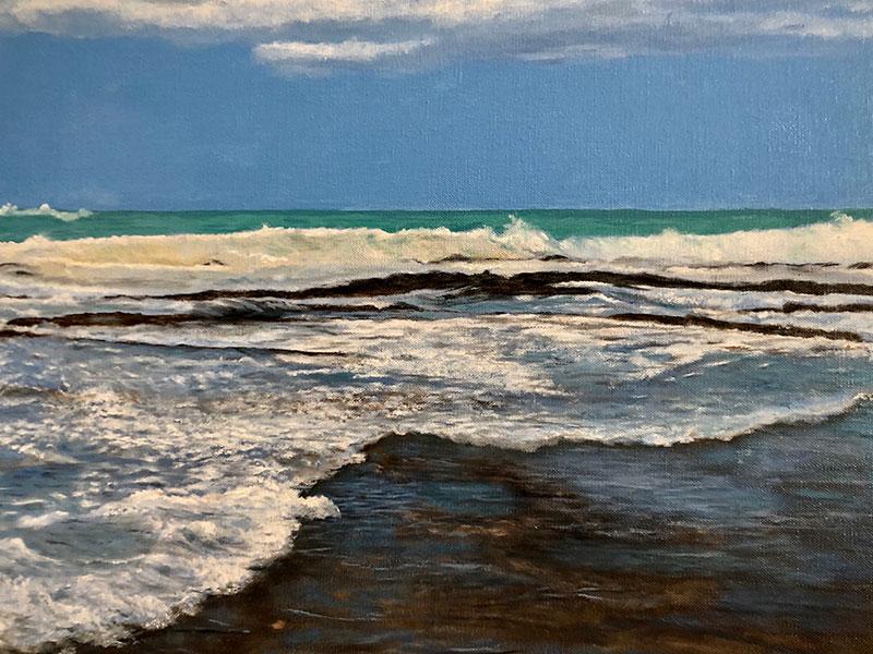 "Lake Ontario 16""x20"" by Josie Korimsek"
