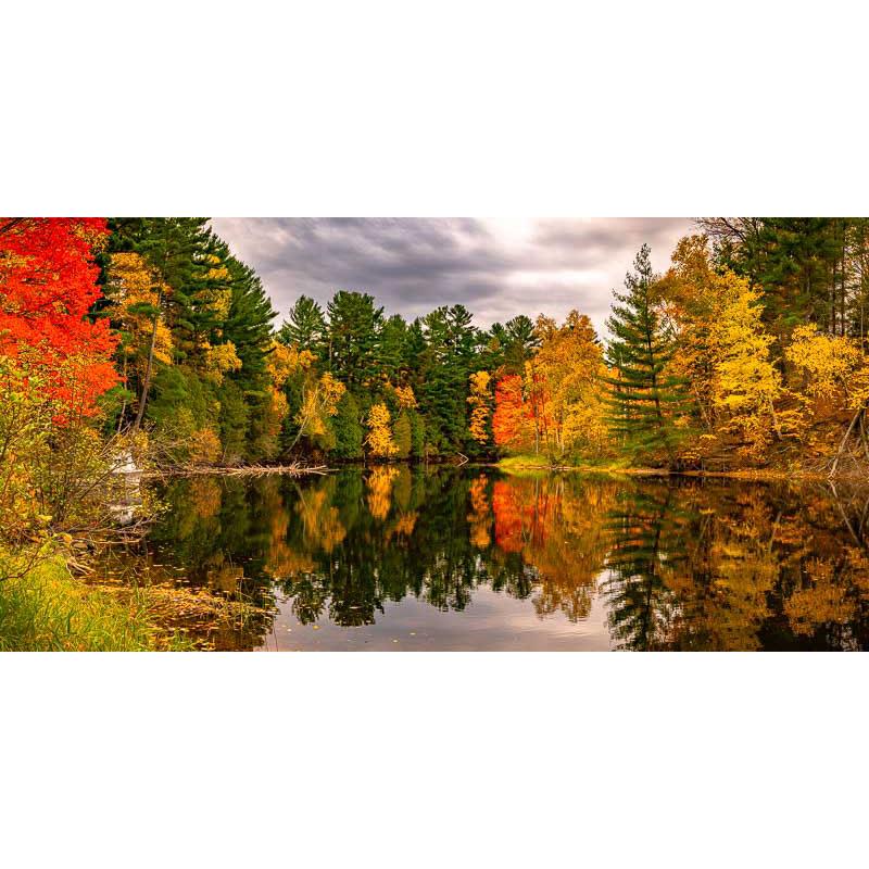 Autumn Colours along the Restoule by Ian Davis