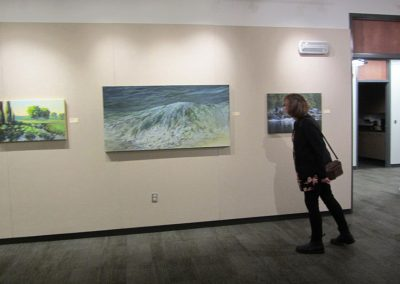 Paivii Marshall checks out Sue Wilkin's Beach Break for which got an Honourable Mention