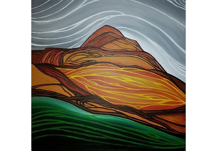 Round Mountains by Jennifer Anne Burke