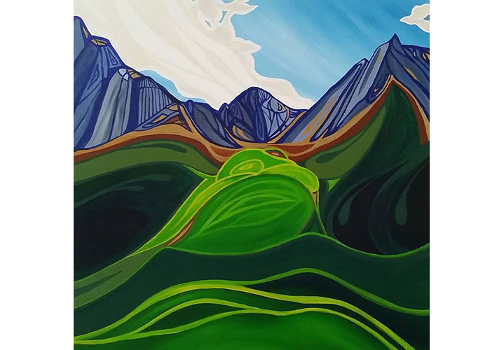 Banff Rocky Mountains by Jennifer Anne Burke