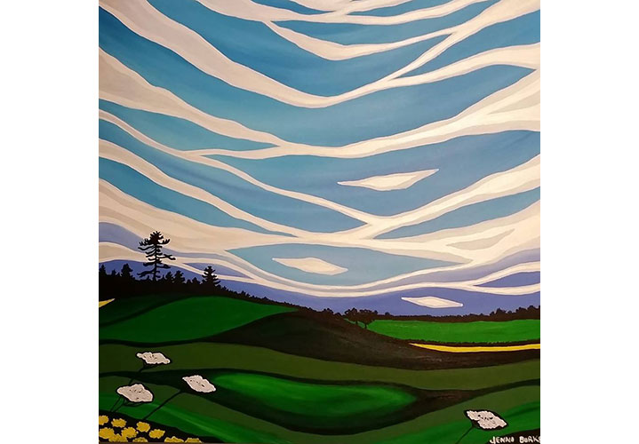 The Rolling Hills of Northumberland by Jennifer Anne Burke