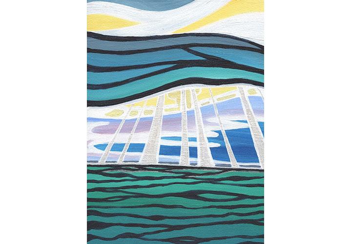 Glorious Lake Ontario by Jennifer Anne Burke