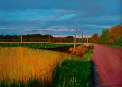 Prince Edward County Side Road by Josie Korimsek
