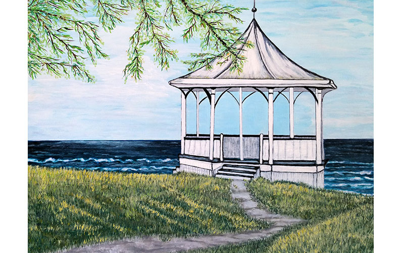Gazebo by Linda Heidt