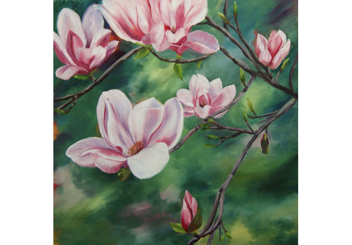 Magnolias by Anita Gutteridge