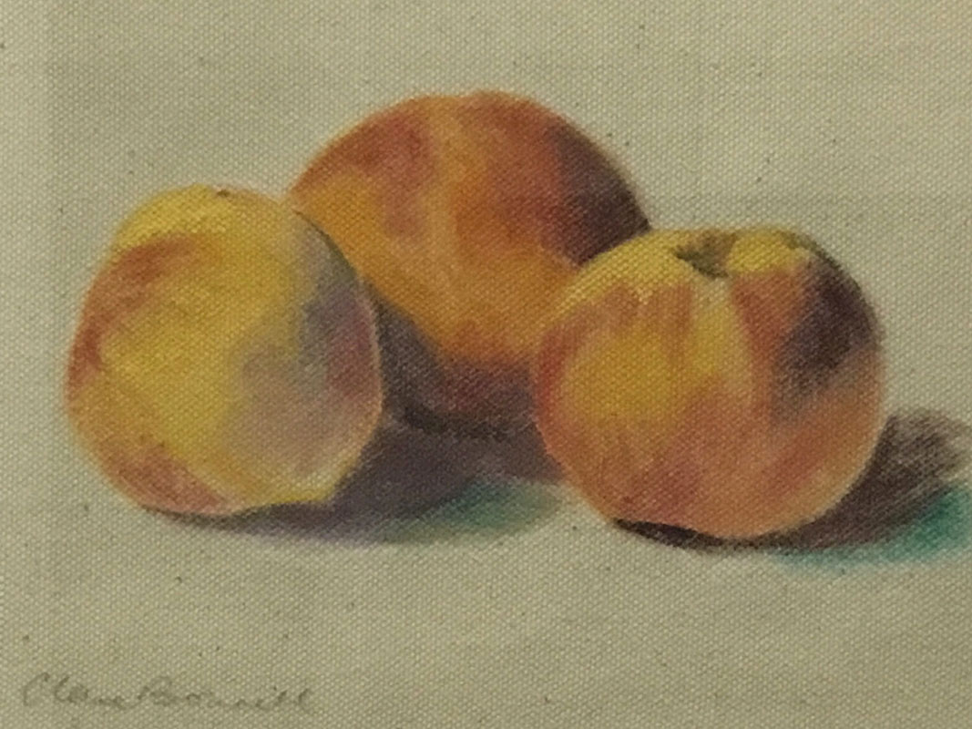 Peaches by Clare Bonnell