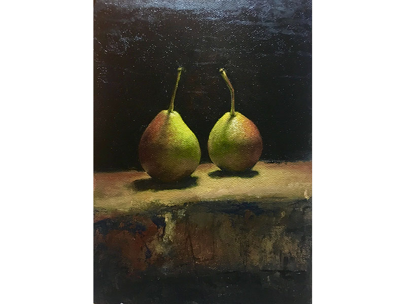 Seckle Pears by Jeffrey Weekes