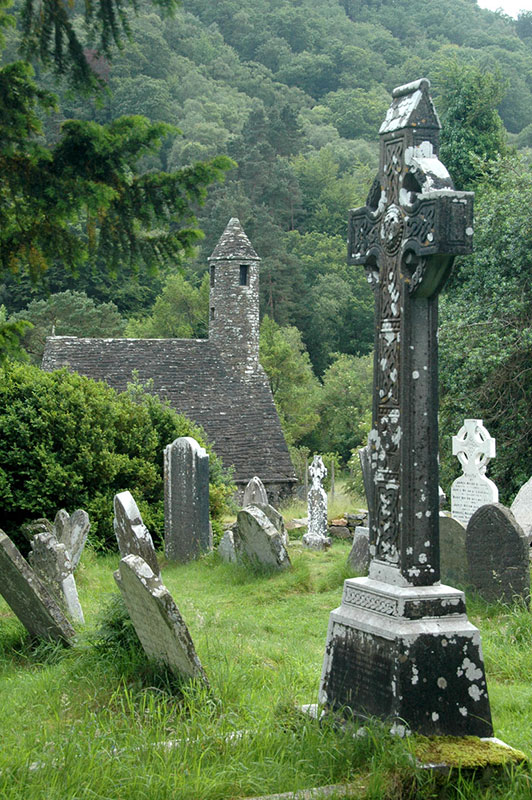 St. Kevin's Churchyard by Tom Groot