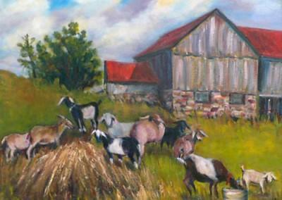 Stevenson's Goats by Olga Szaranski