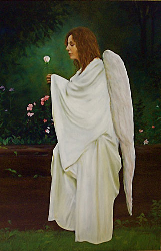 Angel in My Garden by Susan Statham