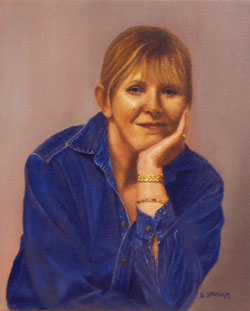 Susan Statham Self Portrait