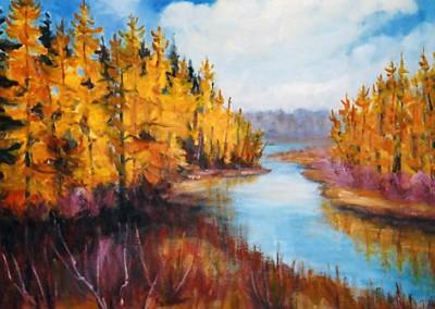 Tamaracs oil by Olga Szaranski