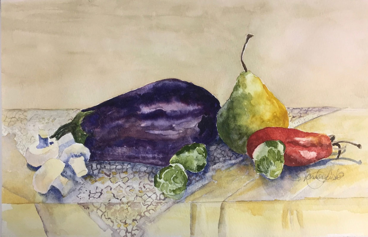 Veggies with Pear by Sharon Ramsay Curtis