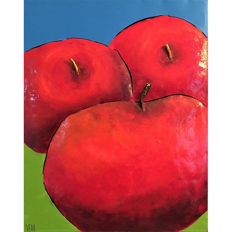 Metal Apples by Vera Litynsky