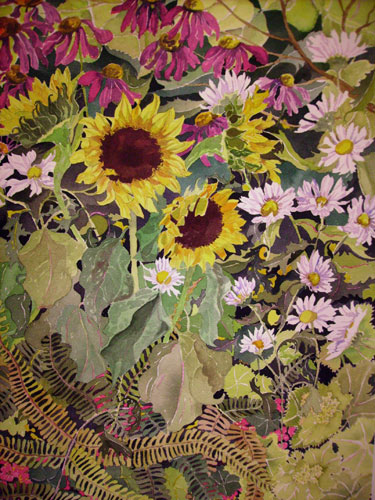 Sunflowers by Louise Leclair-Aronson