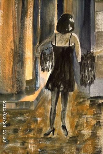 Night Walker by Mary McEwan